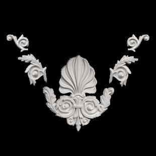 Декоративный орнамент 1.60.019 Европласт