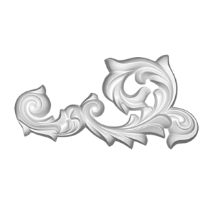 Декоративный орнамент 1.60.023 Европласт