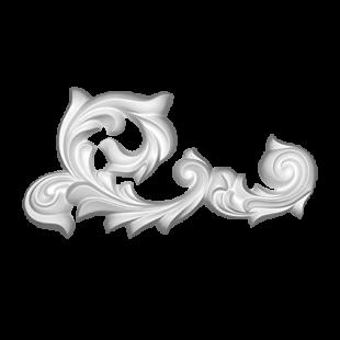 Декоративный орнамент 1.60.123 Европласт