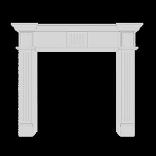 Портал камина 1.64.100 Европласт