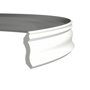 Карниз потолочный гибкий 1.50.105 Европласт