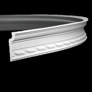 Карниз потолочный гибкий 1.50.119 Европласт