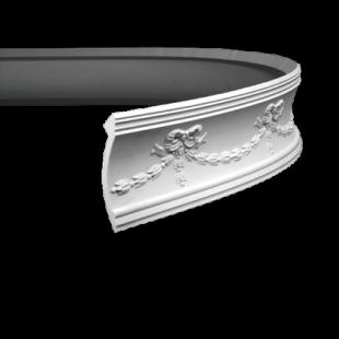 Карниз потолочный гибкий 1.50.120 Европласт