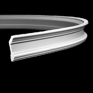 Карниз потолочный гибкий 1.50.121 Европласт