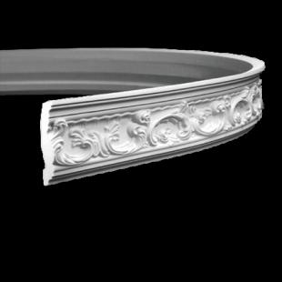 Карниз потолочный гибкий 1.50.124 Европласт
