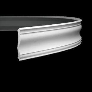Карниз потолочный гибкий 1.50.133 Европласт
