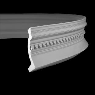 Карниз потолочный гибкий 1.50.153 Европласт