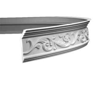 Карниз потолочный гибкий 1.50.163 Европласт