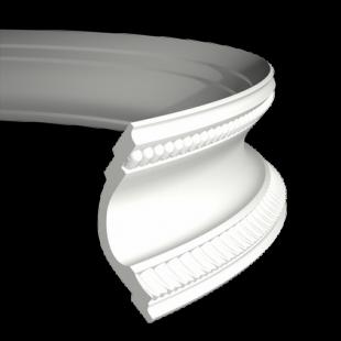 Карниз потолочный гибкий 1.50.164 Европласт