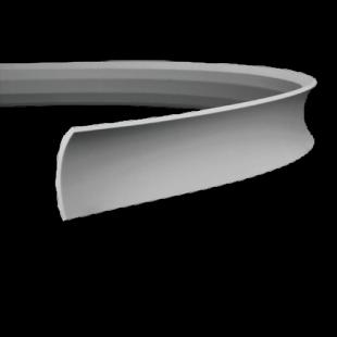 Карниз потолочный гибкий 1.50.165 Европласт