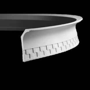 Карниз потолочный гибкий 1.50.176 Европласт