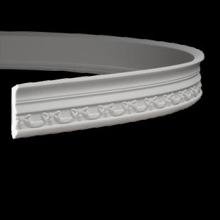 Карниз потолочный гибкий 1.50.186 Европласт