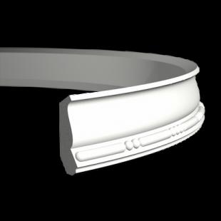 Карниз потолочный гибкий 1.50.190 Европласт