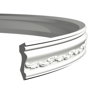 Карниз потолочный гибкий 1.50.192 Европласт