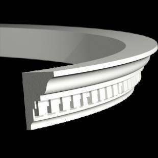 Карниз потолочный гибкий 1.50.196 Европласт