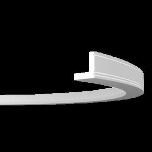 Карниз потолочный гибкий 1.50.213 Европласт