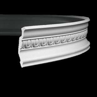Карниз потолочный гибкий 1.50.255 Европласт