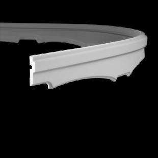 Карниз потолочный гибкий 1.50.265 Европласт