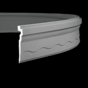 Карниз потолочный гибкий 1.50.268 Европласт