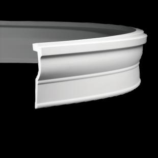 Карниз потолочный гибкий 1.50.270 Европласт