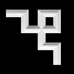 Угловой молдинг 1.52.286 Европласт
